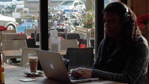 laptop working