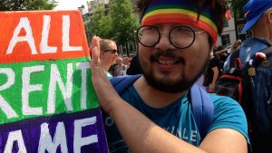 pride amsterdam banner
