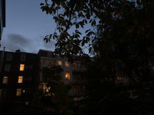 evening amsterdam
